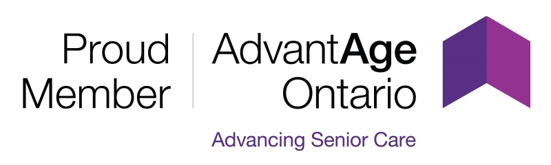 Proud member of AdvantAge Ontario logo